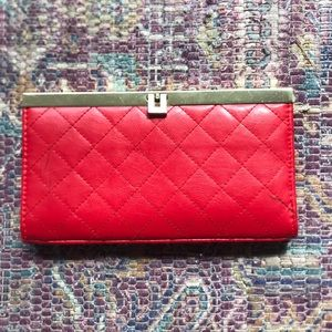 Handbags - Woman's Red Wallet